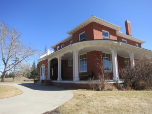 The historic Colonel Walker House!