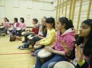 Drumming residency